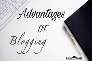 7 advantages of blogging in hindi 2020